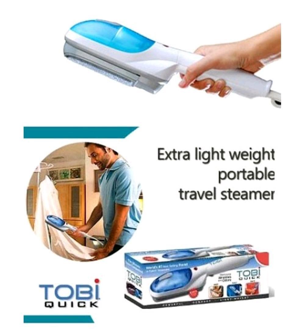 Features Setrika Gosokan Uap Travel Genggam Steam Wand Hand Ironing Steamer Tobi Dengan Spray Air Seperti Di Tv