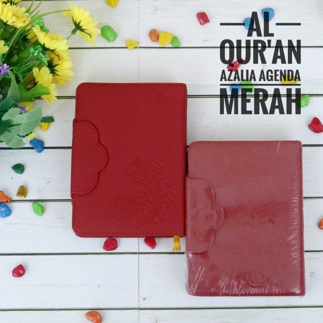 Cuci Gudang Nabawi Al Quran Saku Wanita Azalia Agenda Merah