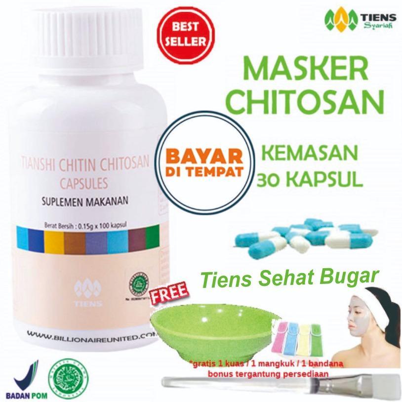 Dapatkan Segera Tiens Masker Herbal Anti Jerawat Paket 30 Kapsul Gratis Hadiah Random By Tiens Sehat Bugar