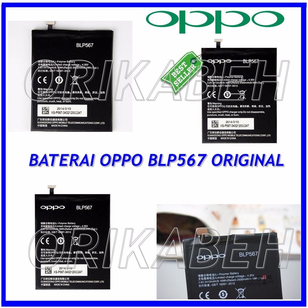 Oppo Baterai / Battery BLP567 For Oppo R1 Original - Kapasitas 2500mAh ( orikabeh )