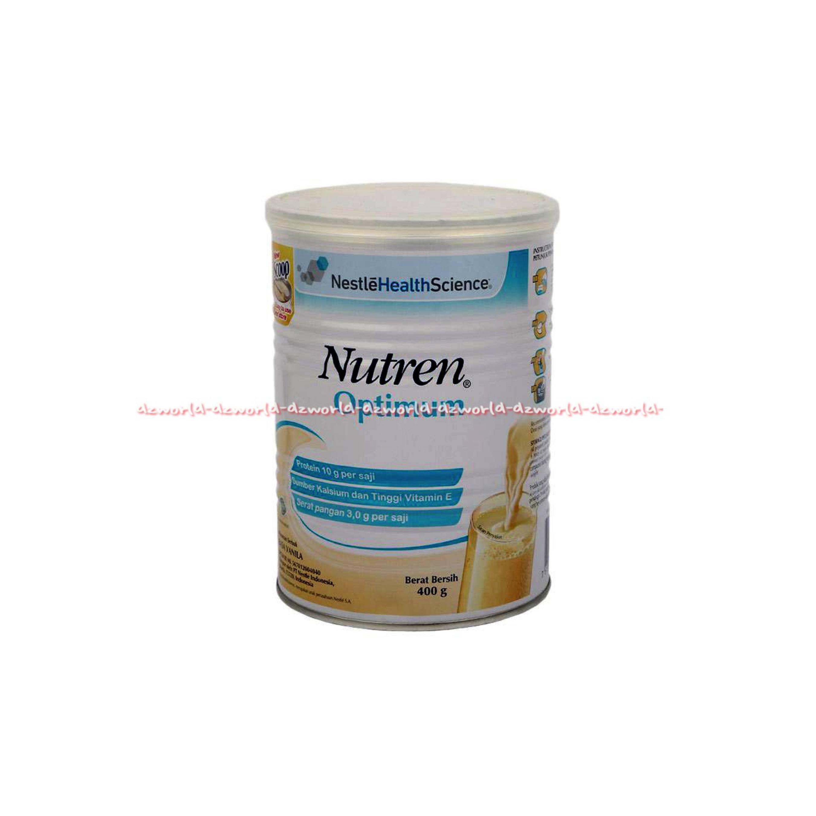 Jual Nutren Optimum Prebio 800gr Bundle 2 Kaleng Free Tas Motif Source · Nutren Optimum Susu