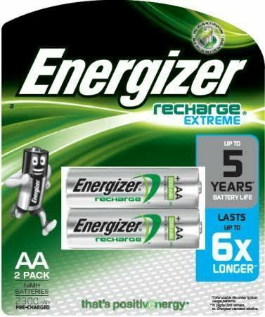 baterai batre batere battery energizer recharge original 2300mah  rechargeable 84e1b02c42