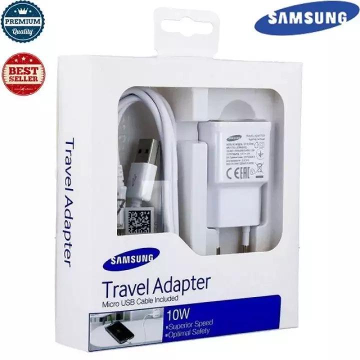 Fitur Samsung Charger 10w Original Casan Carger Hp J3 J5 J7 A3 A5 A7