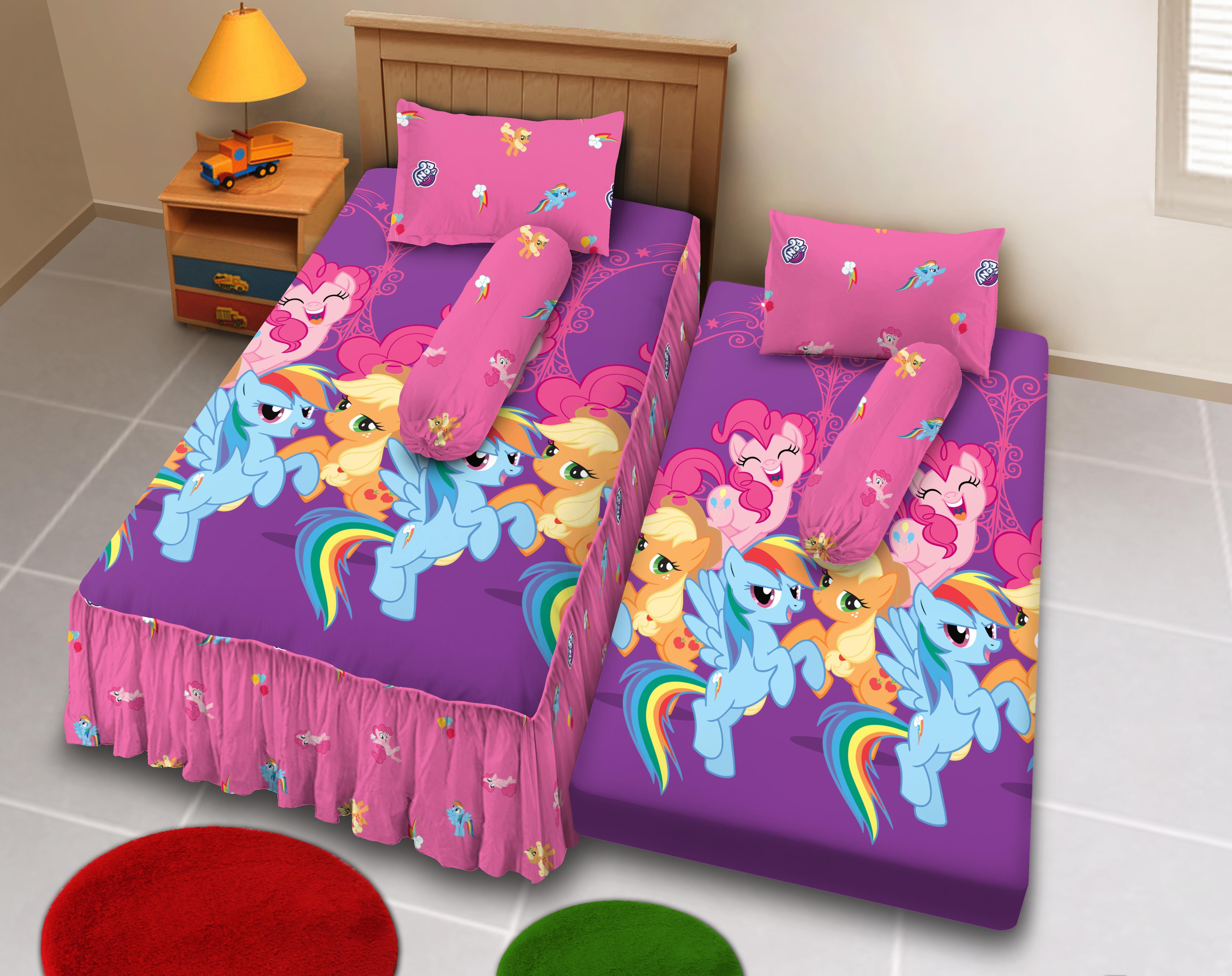 Cek Harga Baru Sprei Ukuran 180 X 200 Classic Kuda Pony Terkini Kintakun Dluxe 120 Single Pisano 2in1 Little