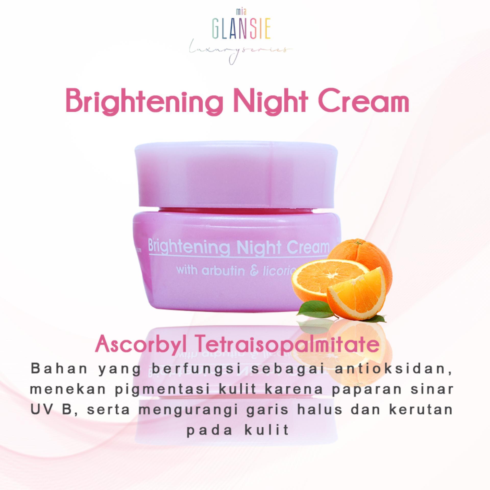 Fitur Glansie Luxury Bpom Paket Brightening Dan Harga Terbaru Skincare Normal Sabun Batang 5