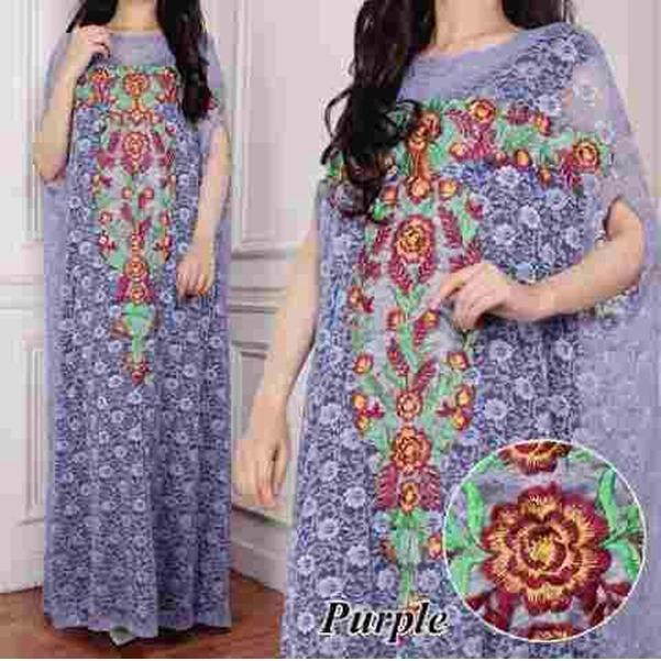 J&C Kaftan Mila / Kaftan Wanita / Kaftan Muslim / Long Dress Maxi / Long Kaftan / Baju Muslim / Hijab Fashion / Hijab Style
