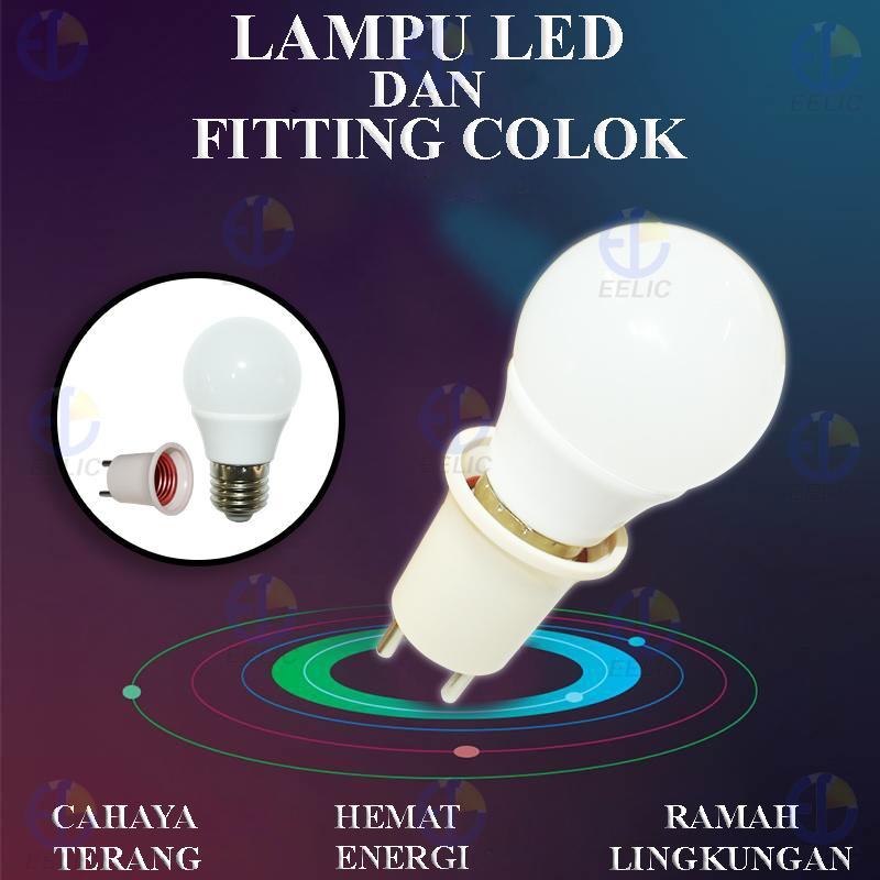 ... S 7 Watt Putih X .. Source · Detail Gambar EELIC LFC-SL3W LAMPU SIP LITE CAHAYA TERANG BOHLAM LAMPU LED GLOBE (