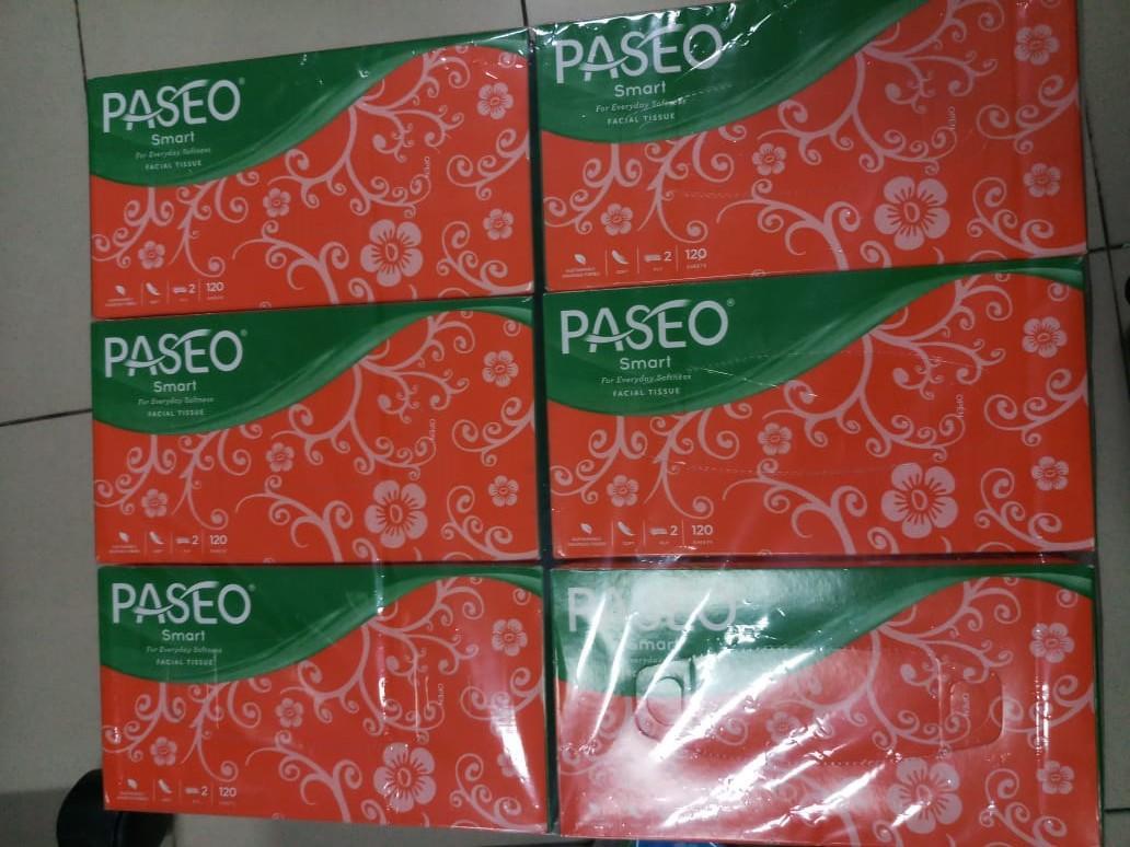 Kelebihan Paket Hemat 6 Pcs Paseo Original Tisu Tissue Smart 250 Tessa Facial Wajah Sheets 2 Ply 12 Box 120