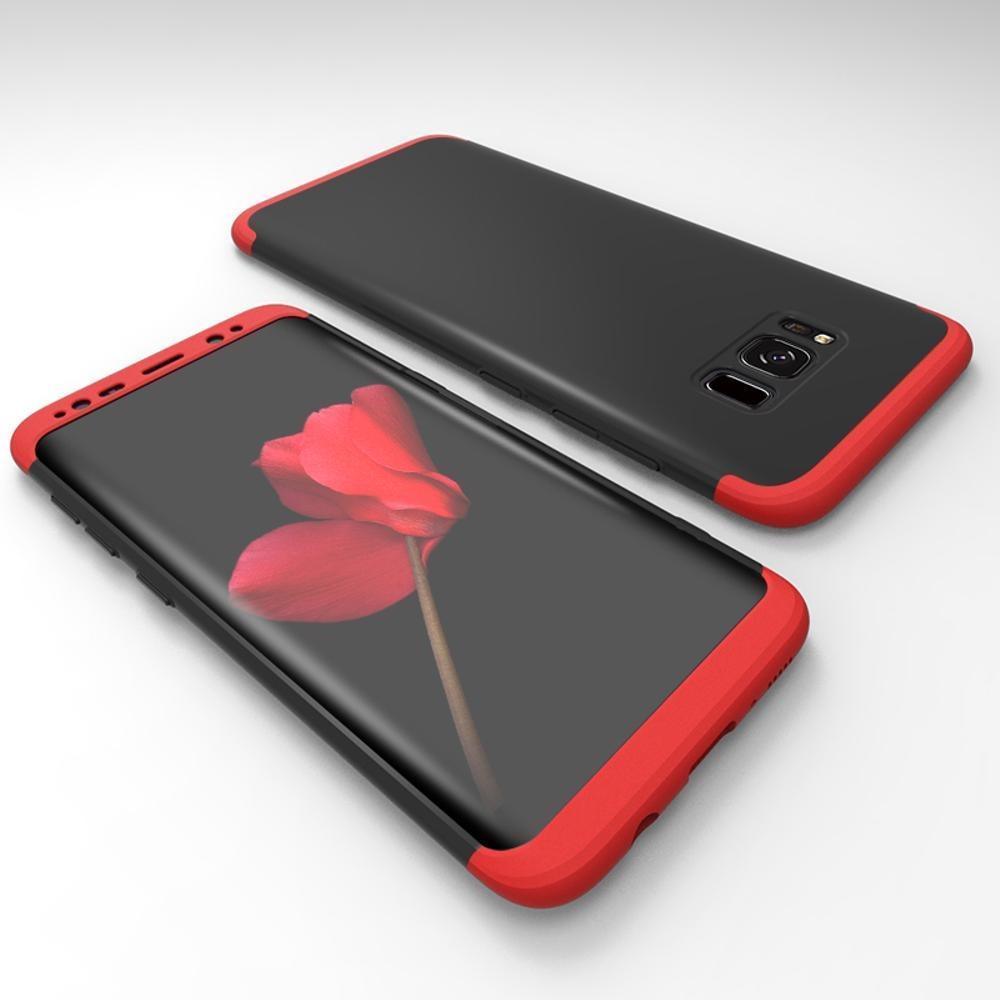 Kehebatan Original Hardcase Gkk 360 For Xiaomi Redmi Note 5 Pro Full Case Protective Samsung Galaxy S8 Body Protection Baby Skin Cover Hitam Merah