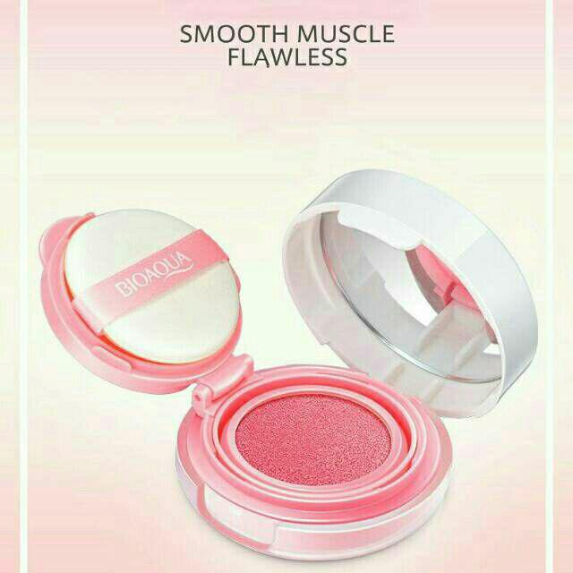 Bioaqua Blush-on Cushion Smooth Muscle Flawless