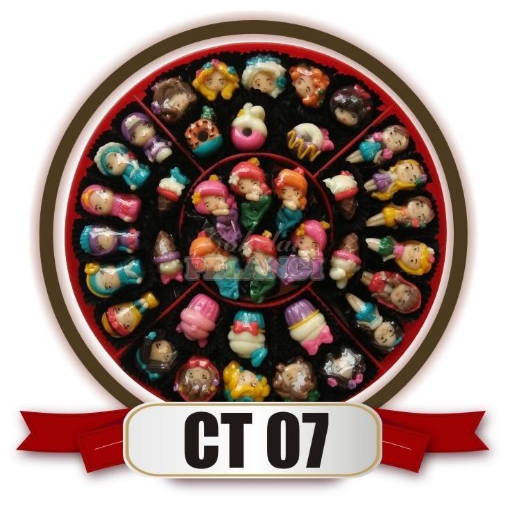 terbaru coklat karakter kartun mermaid dan princess merk cokelat pelangi toples candytray kode CT07 untuk sajian lebaran