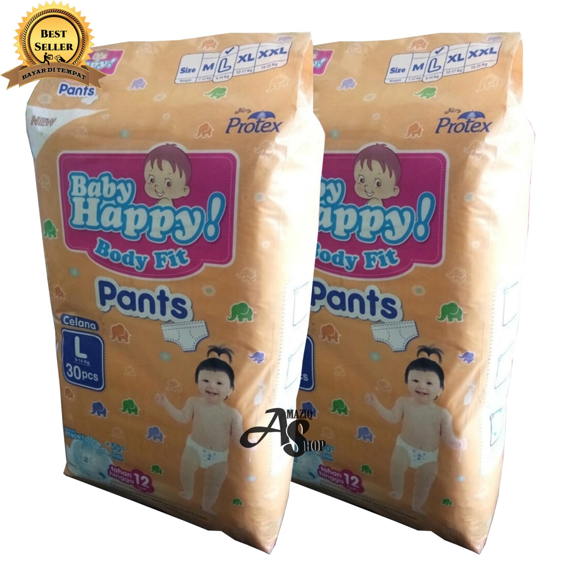 Kehebatan Baby Happy Body Fit Pants Pack L 30 Isi 2 Dan Harga Goon Smile Wonderline Super Jumbo Xxl 24 Bonus 3