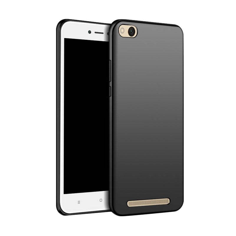 Interesting Soft Case Black Matte Xiaomi Redmi 4A Softcase Baby Skin Ultra Slim