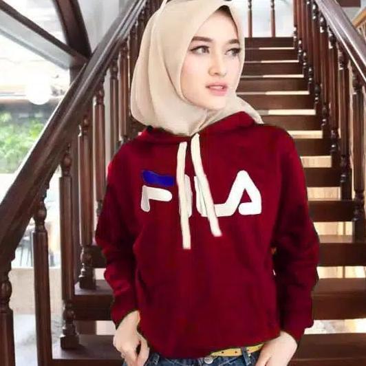 Clairestore Sweater Wanita Populer - Maroon (Promo Beli 2 Gratis 1)