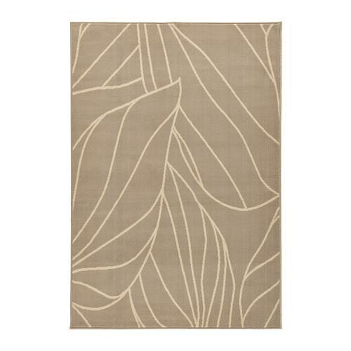 Jual Ikea Laborg ~ Karpet Bulu Tipis Krem 133X195 Cm  Rug- Low Pile-