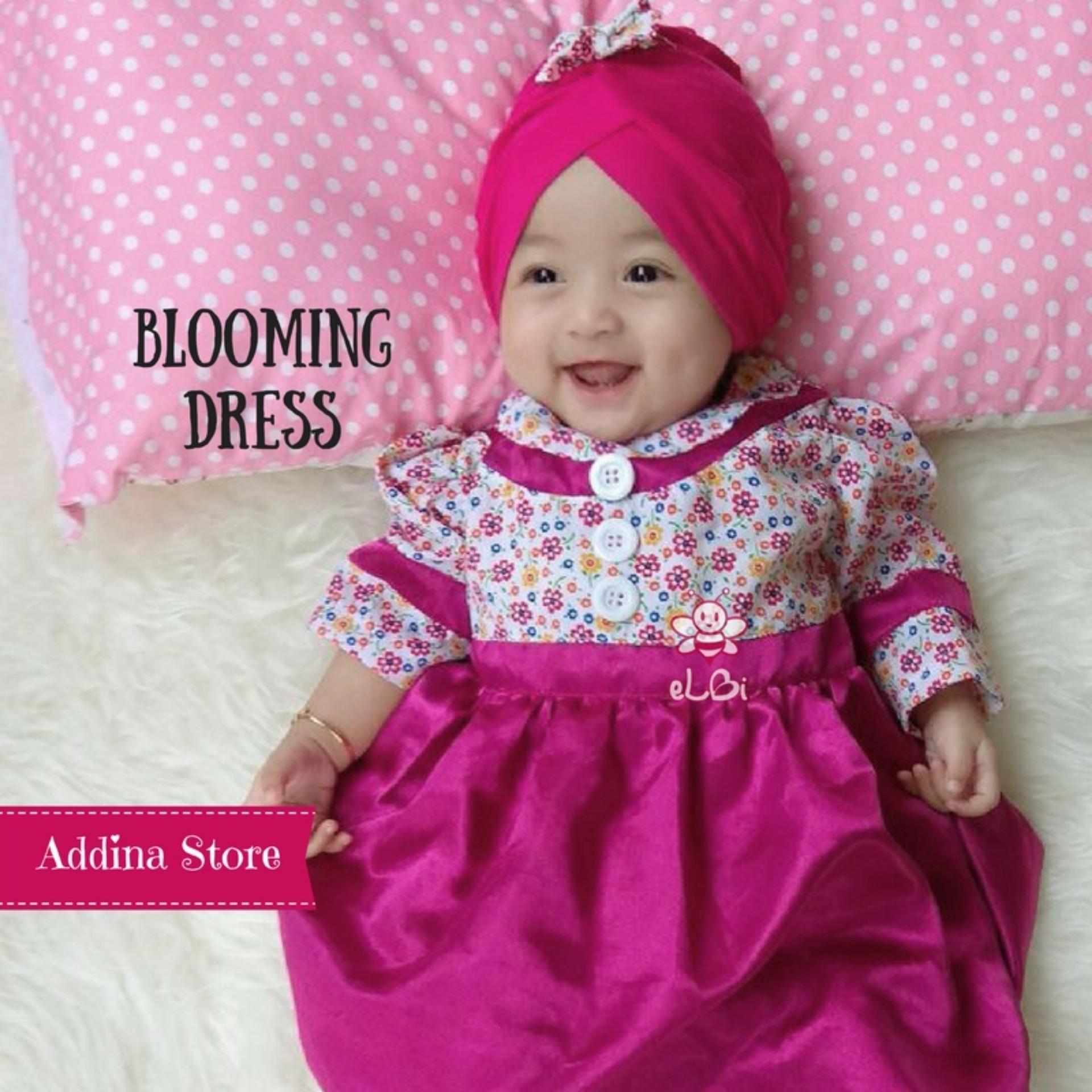 Top 10 Elbi Blooming Dress Dengan Turban Baju Bayi Baju Bayi Perempuan Baju Bayi Cewek Baju Bayi Muslim Baju Bayi Lucu Addina Store Online