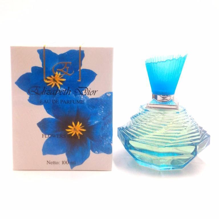 Elizabeth Dior Flowers Blue ORIGINAL POM NA18110601250