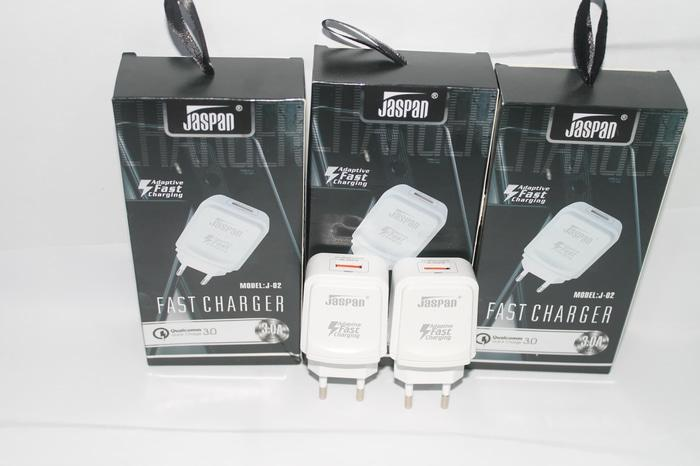 Hemat 10%!! Batok Charger Jaspan 3A Super Fast Charging Premium Quality - ready stock