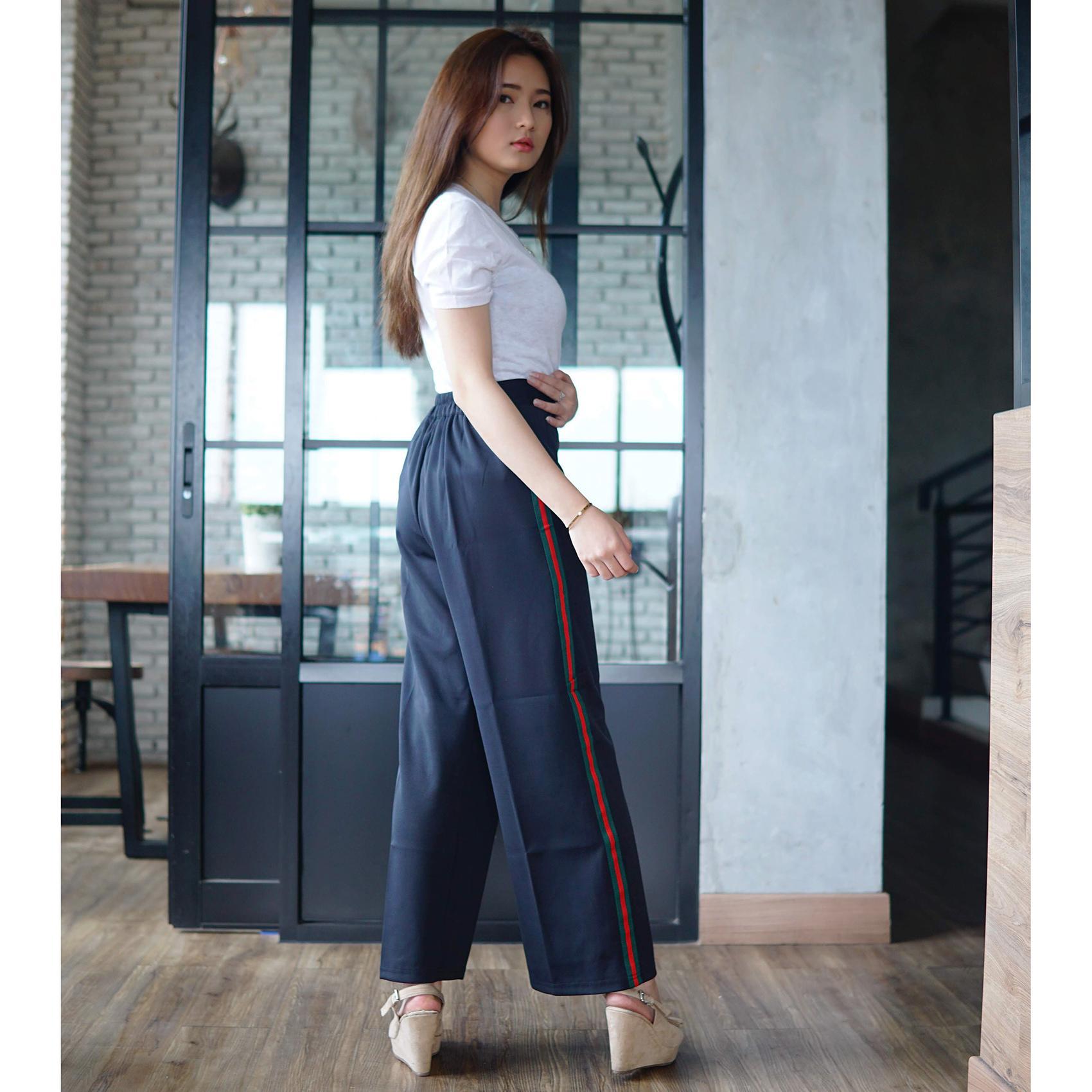 Rumah Jeans / Celana Kulot Panjang / Kulot Scuba GC / Celana Scuba .