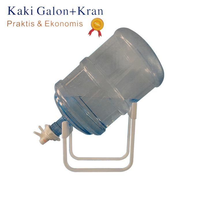 Sap Kaki Galon + Kran Tempat Dudukan Dispenser Air