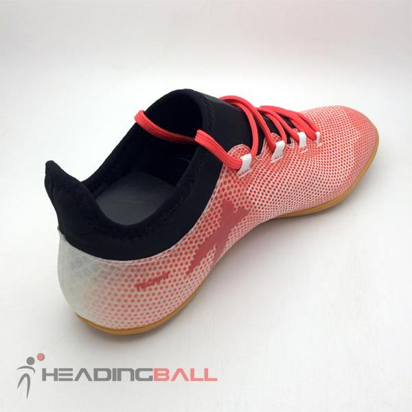 Detail Gambar Sepatu Futsal Adidas Original X Tango 17.3 IN White Real  Coral CP9140 Terbaru edba899166114