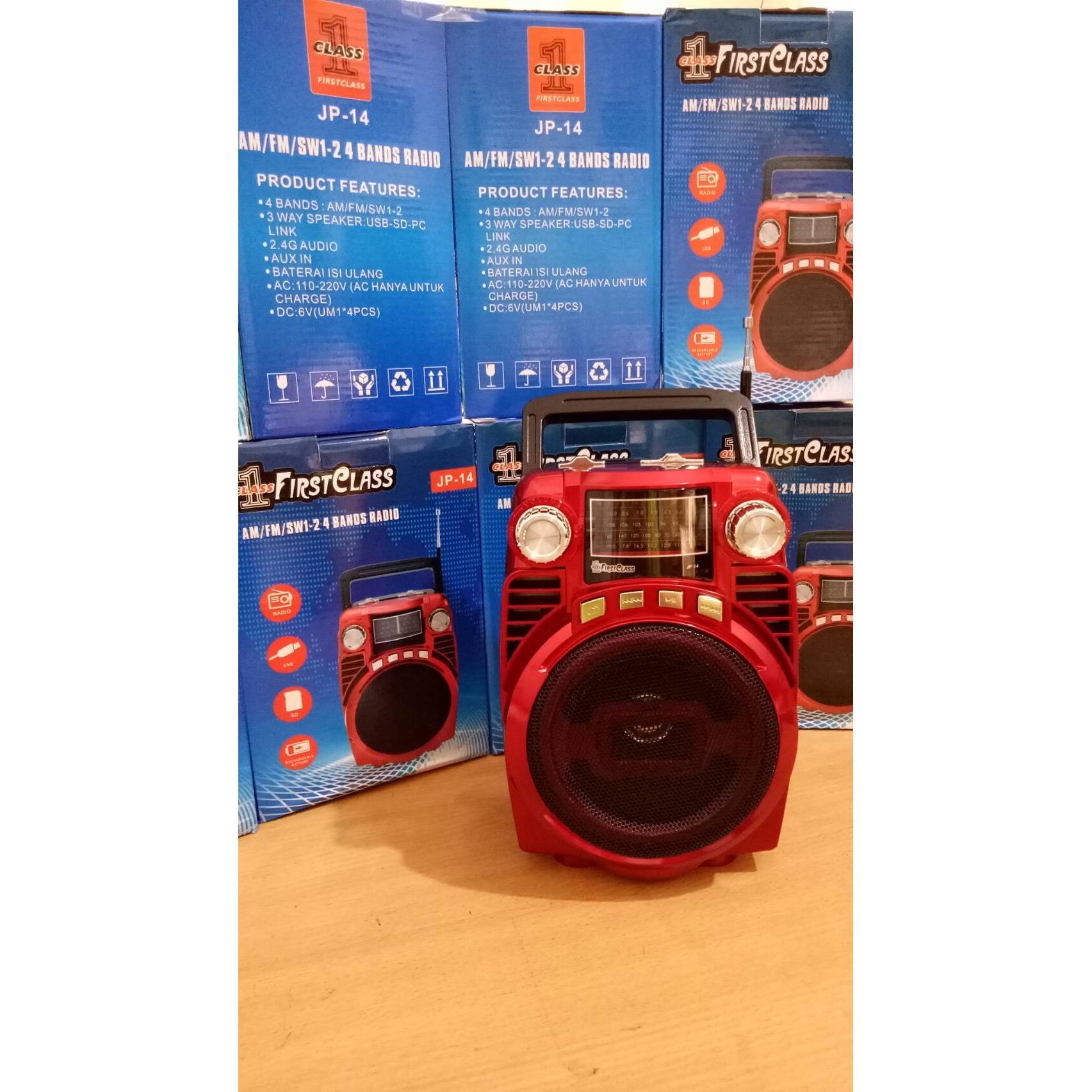 Babyandkids Radio Speaker Usb Portable Am Fm Murah