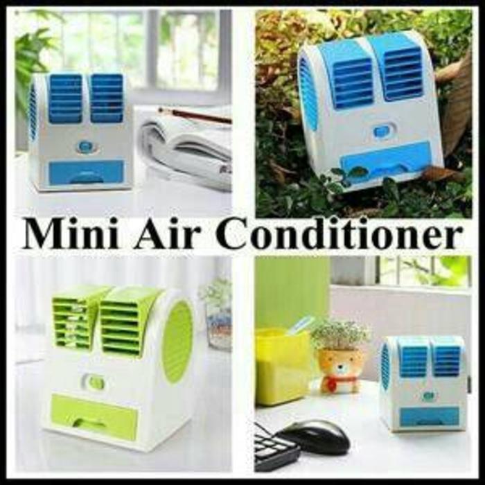New Produk AC Portable mini duduk Double Fan/ Mini fan/ Mini Ac Air Conditioning