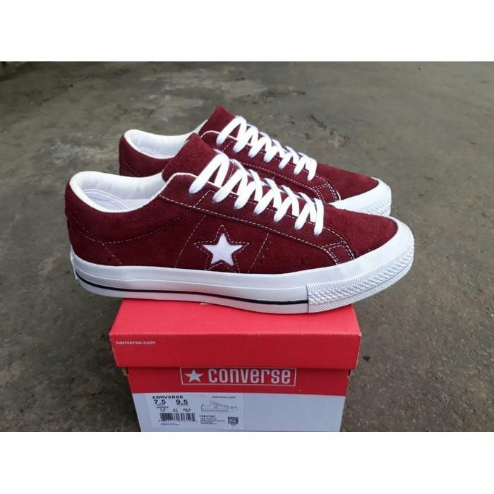Harga Sepatu Converse One Star Port Royale White Premium Multi Original