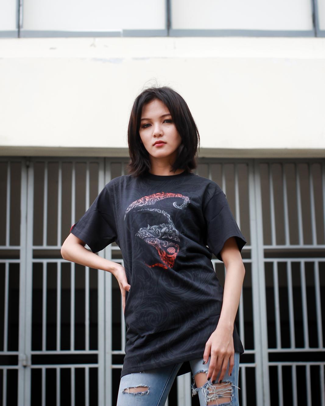 Culture Hero Kaos Distro Keren Budaya Indonesia: Logo Ornament SS