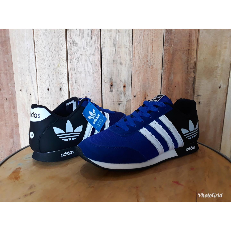 Kehebatan Racer Sepatu Lari Profesional Hitam Biru Dan Harga Update Adidas Cloudfoam Lite Olahraga Neo V Jogging Runing Sneaker Pria Wanita Berkualitas Ringan