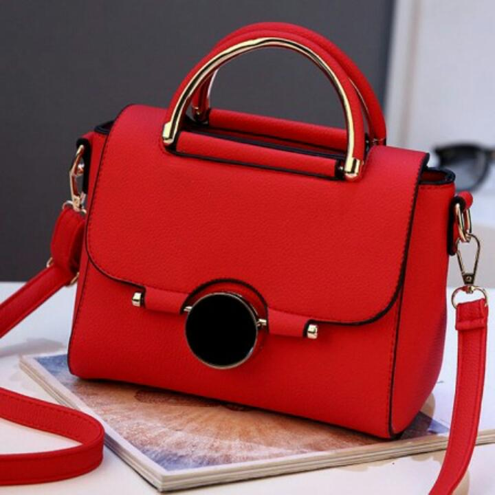 1ST-2301 Shoulder Bag Import Gaya Kekinian - Red