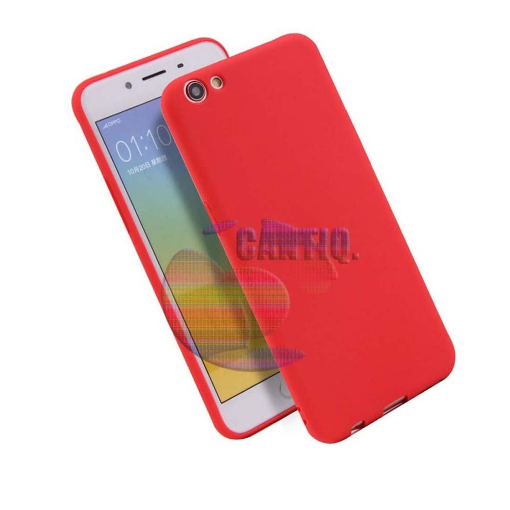 Gambar Produk Rinci Lize Jelly Case Oppo A71 Candy Rubber Skin Soft Back Case / Softshell