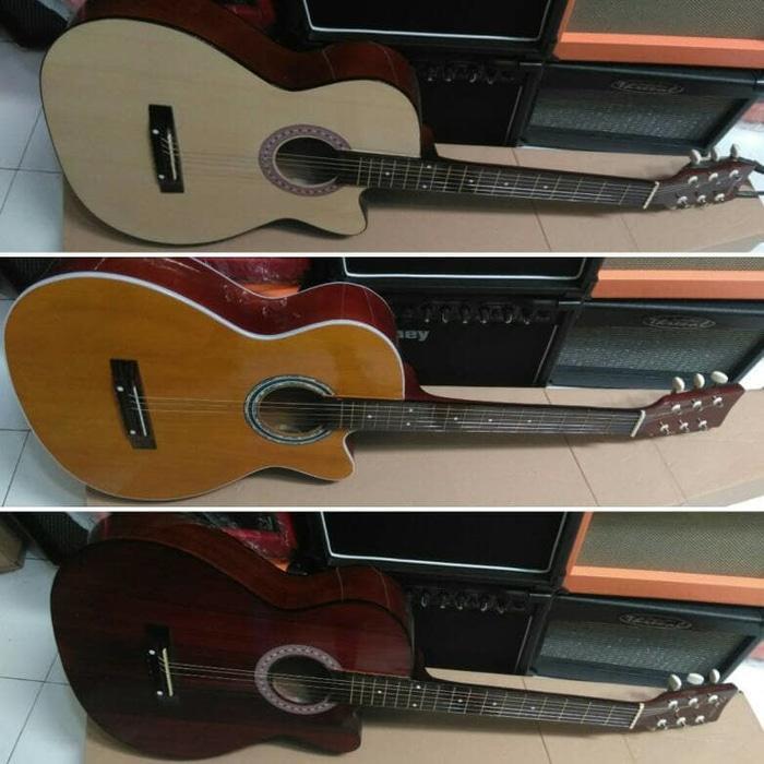 Gitar akustik cocok buat belajar / Gitar pemula 2 Ulasan