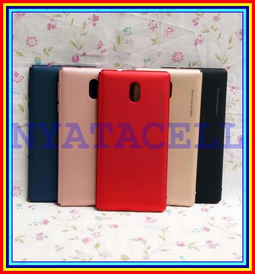 Hard Case Baby Skin Nokia 3 Soft Touch Matte Dove Hardcase Gea - Hitam