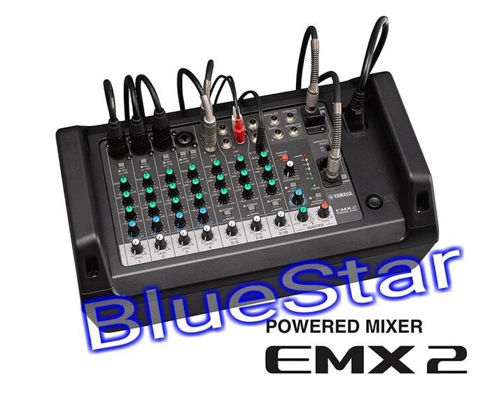 ORIGINALS  Power Mixer Yamaha EMX 2 (10 channel)