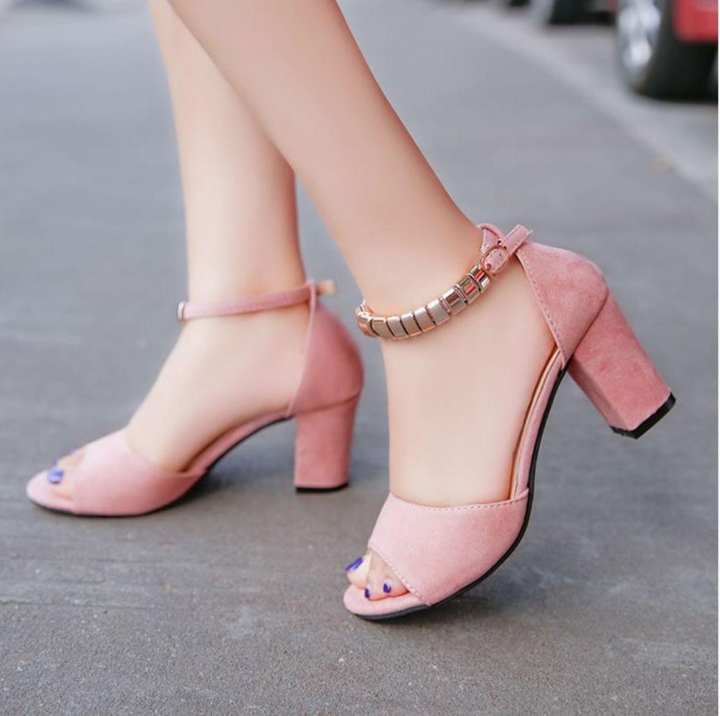 Fitur Heels Marina Salem Dan Harga Terbaru Toko Daring Murah Sepatu Boot High Ls09 M Id Shoes Wanita Chiby