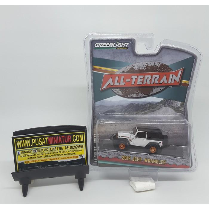 2012 Jeep Wrangler - Greenlight All Terrain - Skala 1:64 (Diecast) - Kkldqj