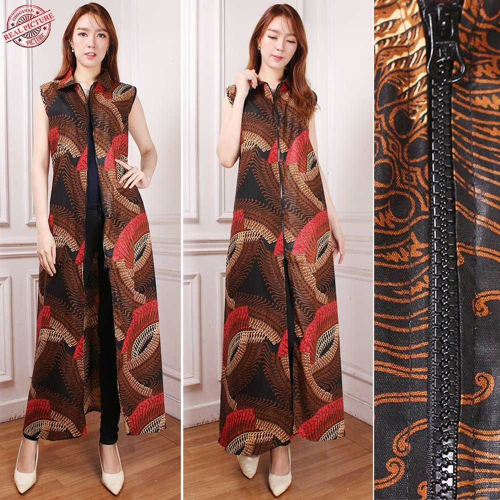 SB Collection Gamis Maxi Dress Renatta Longdress Terusan Batik Wanita