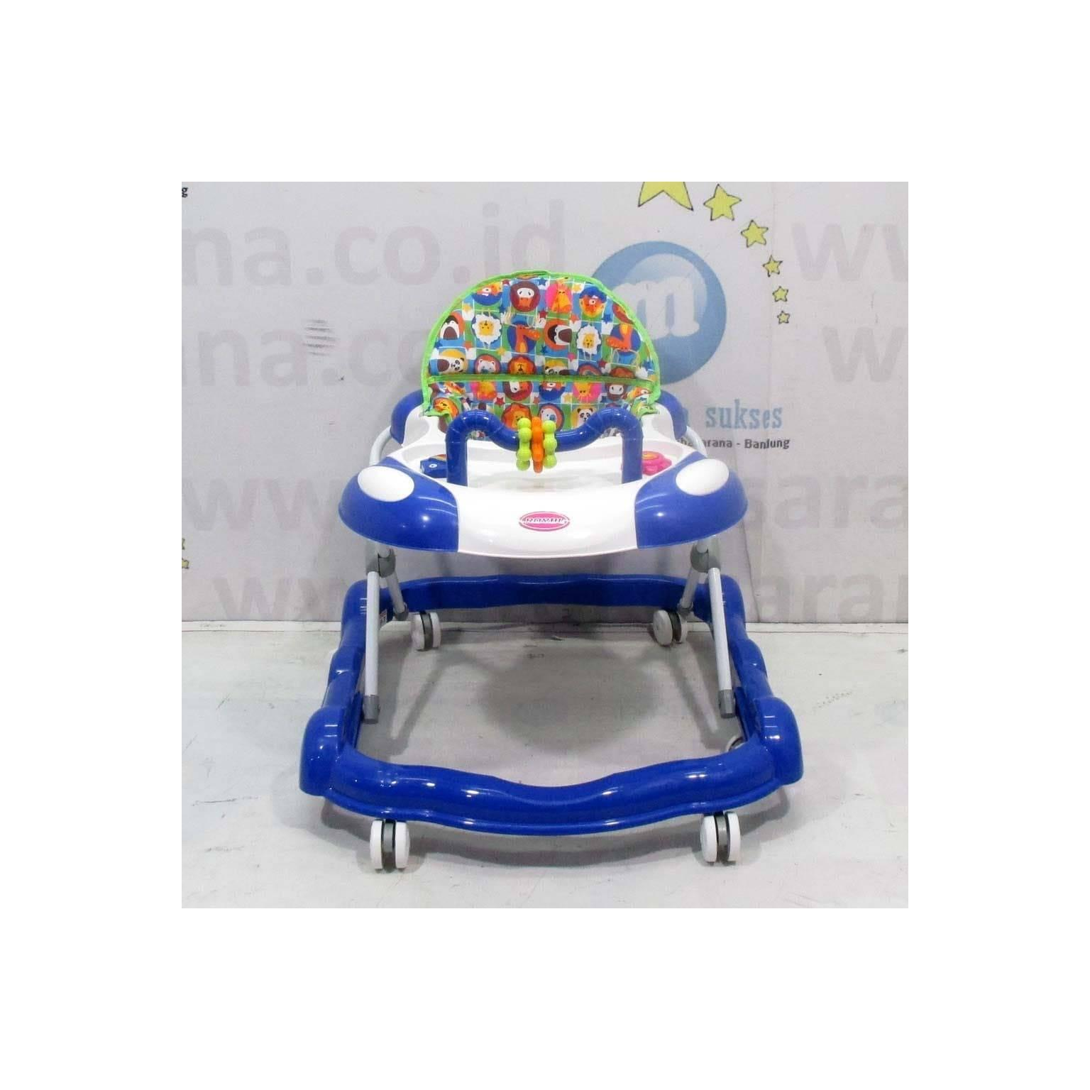 Grosir 2 in 1 Royal RY828 Musik Roller Toy Baby Walker & Dorongan .