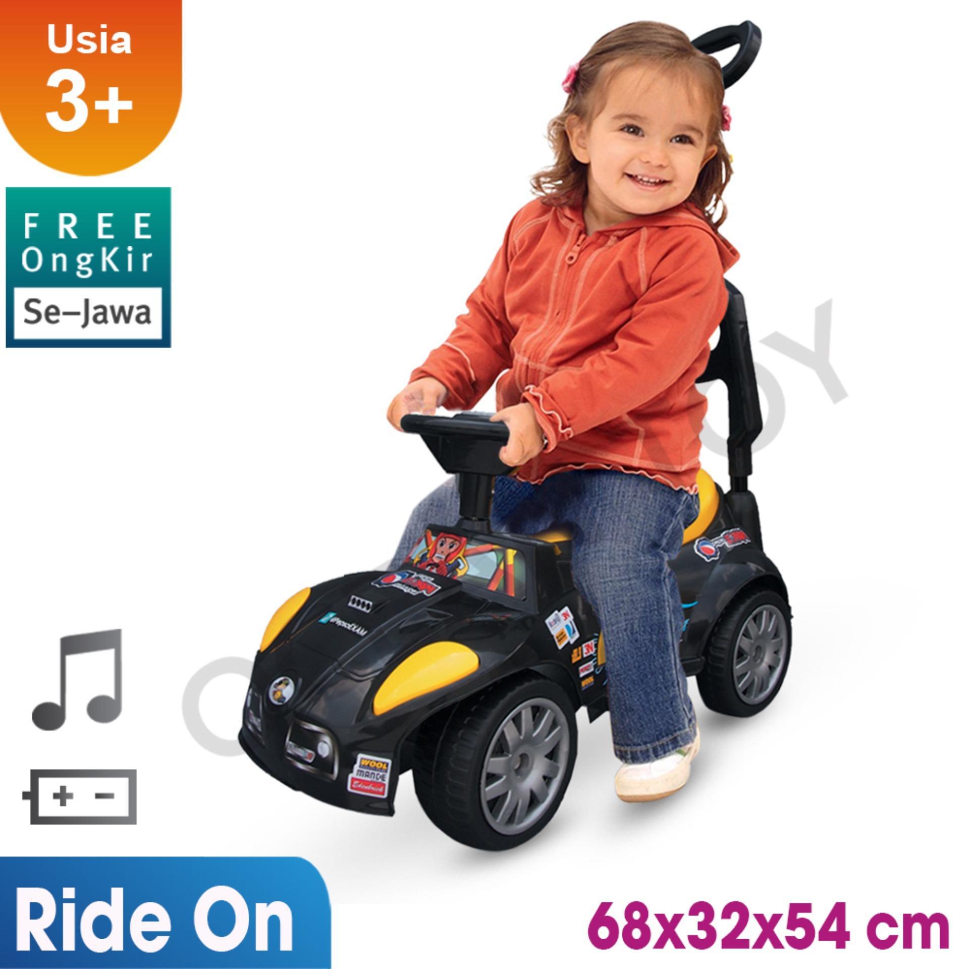 Spesifikasi Free Ongkir Se Jawa Ocean Toy Yotta Ride On Mobil Pembalap Mainan Anak Black