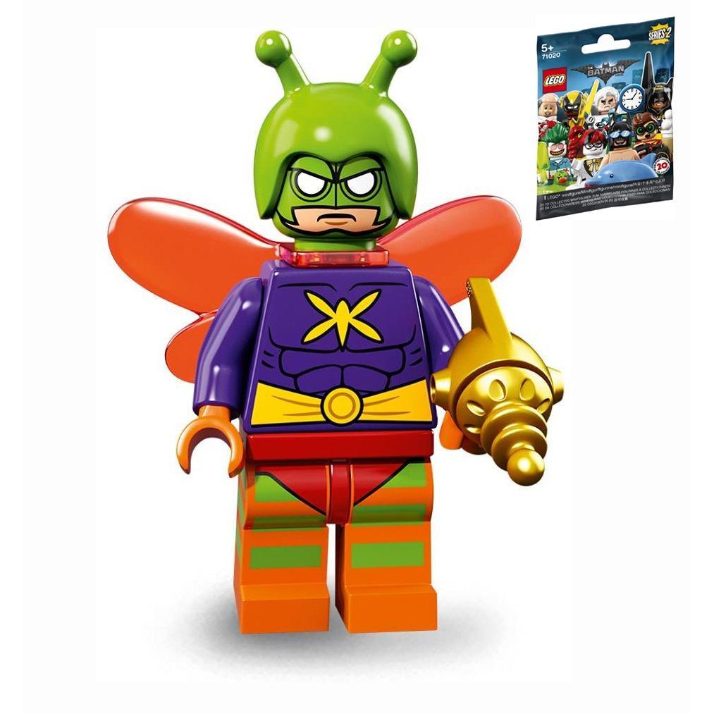 Sealed - Killer Moth Lego 71020 Minifigure Batman Series 2 no 12