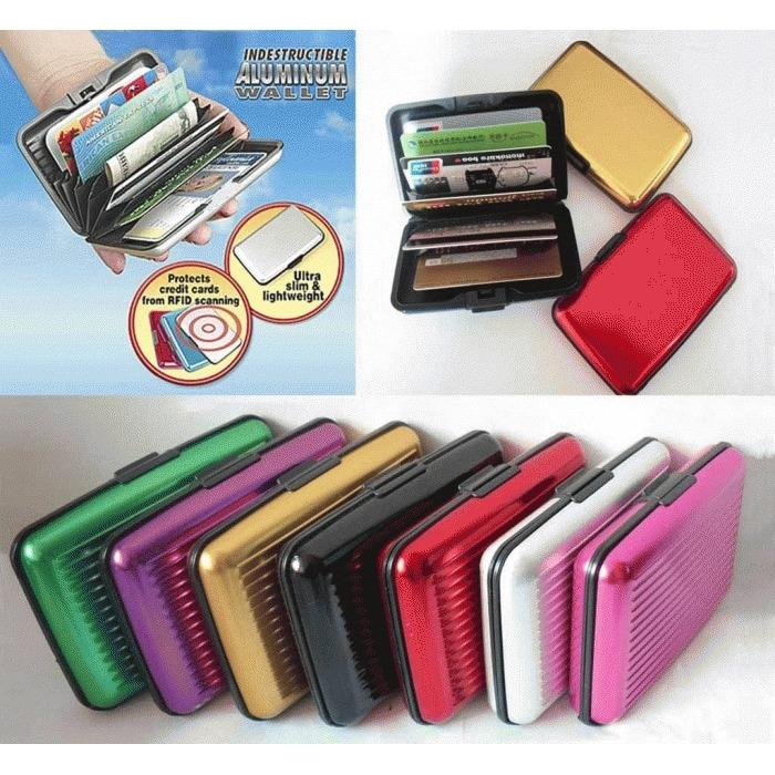 Card Holder Dompet Kartu Anti Air
