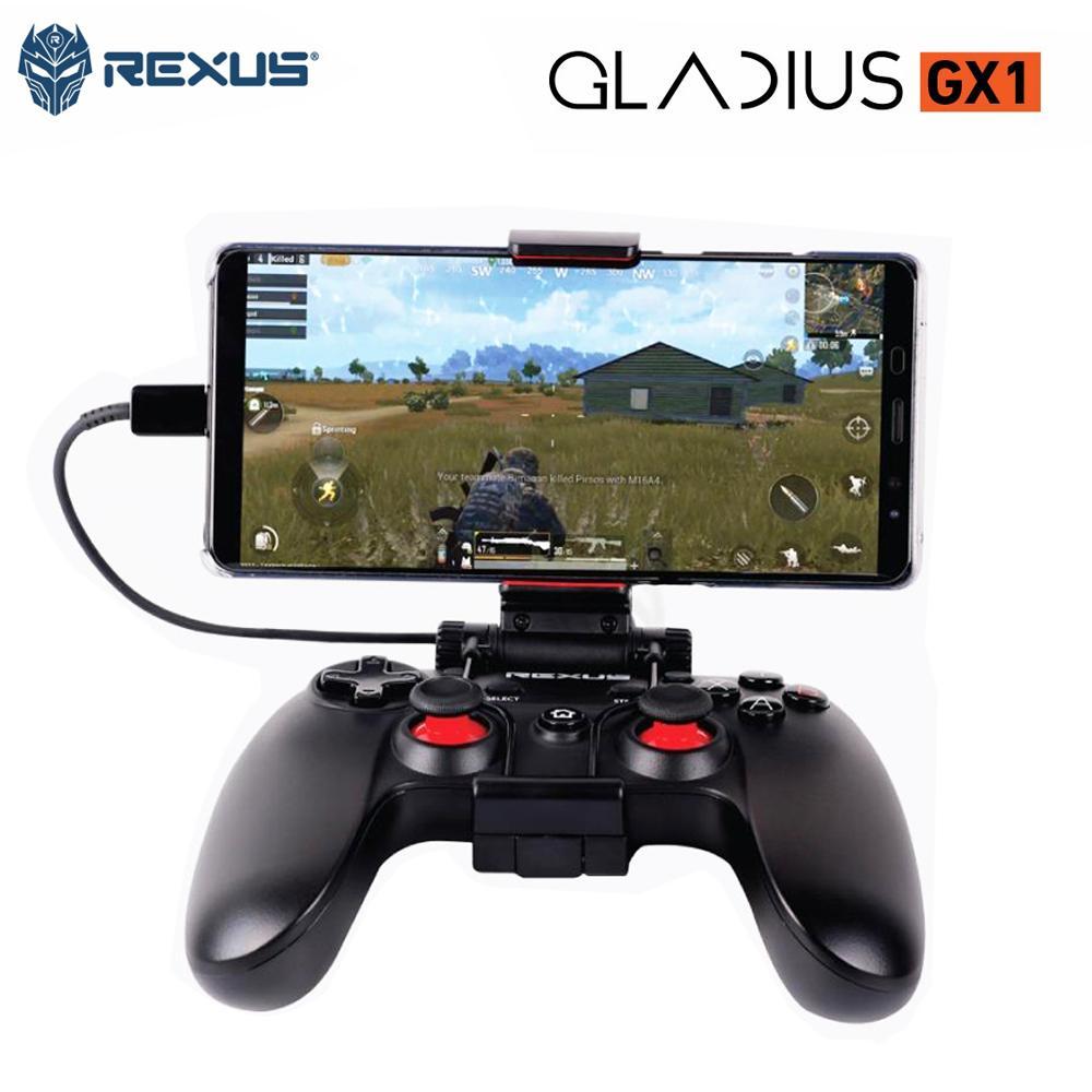 Features Rexus Pro Gaming Gamepad Gx1 With Phone Holder Dan Harga K9tkl Keyboard K9 Tkl Gladius Plus Hitam