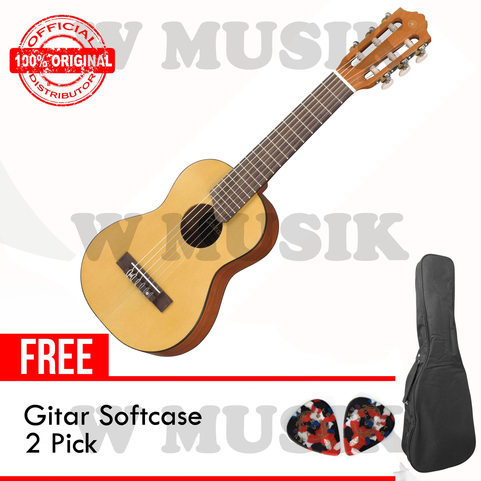 Yamaha Gitar Mini Gl 1 Gl1 Guitalele Natural Gratis Softcase 2 Pick Asli