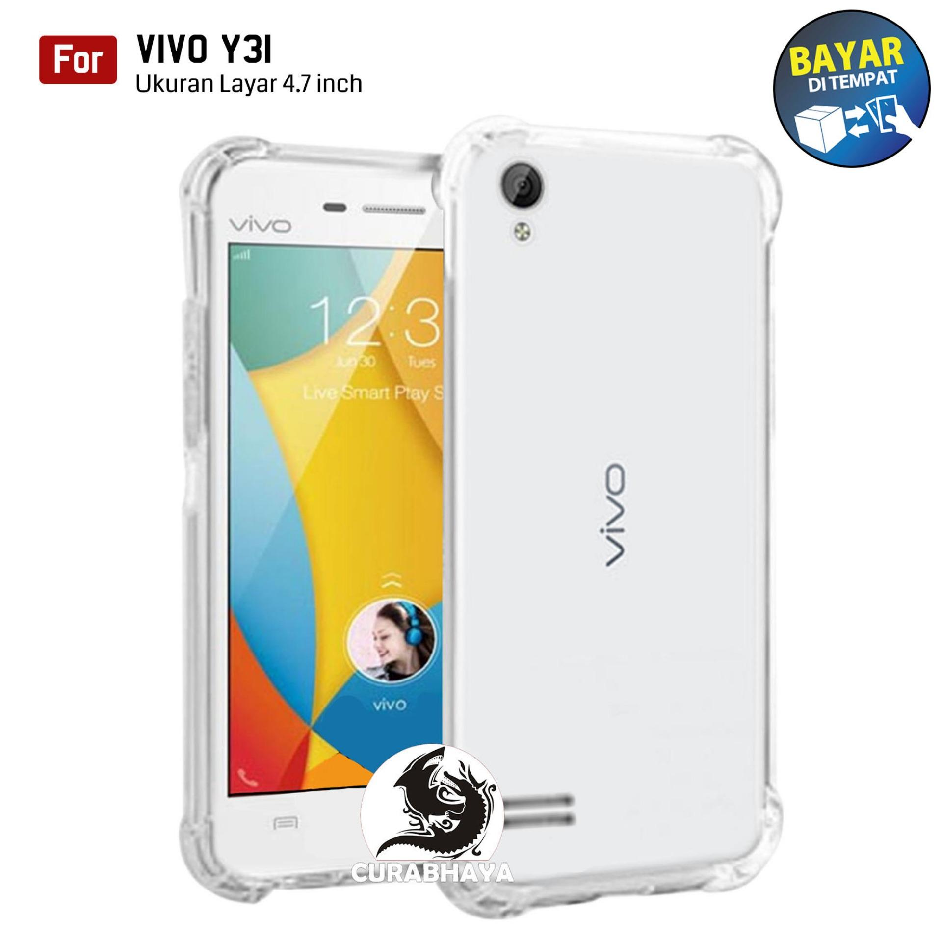 AirShock Vivo Y31 / Y31L / Y31T / Y31S | Anti Crack Premium Softcase Cushion ShockProof