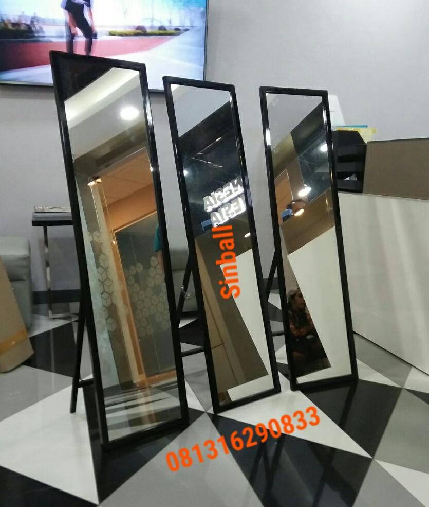Kelebihan Standing Mirror Cermin Berdiri Kaca Terkini Pouch 10x17cm Plastik Klip Kemasan Detail Gambar Terbaru