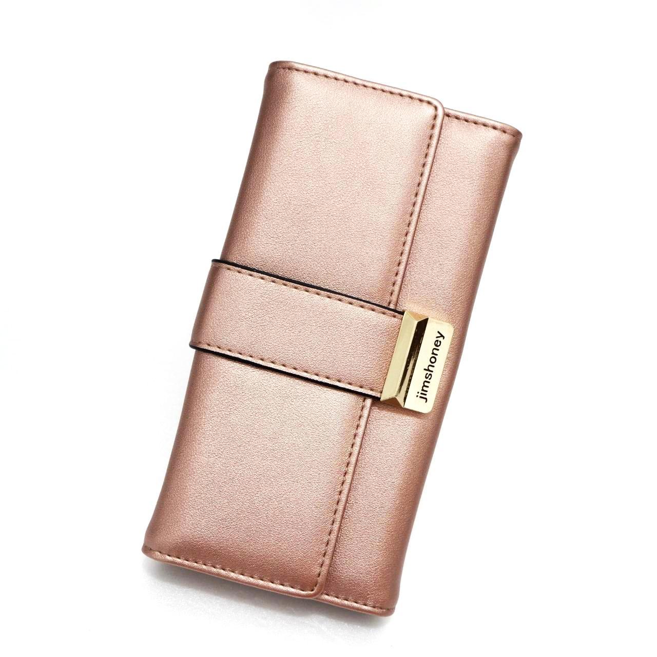 Jims Honey - Dompet Fashion Import - Amour Wallet (Rosegold)