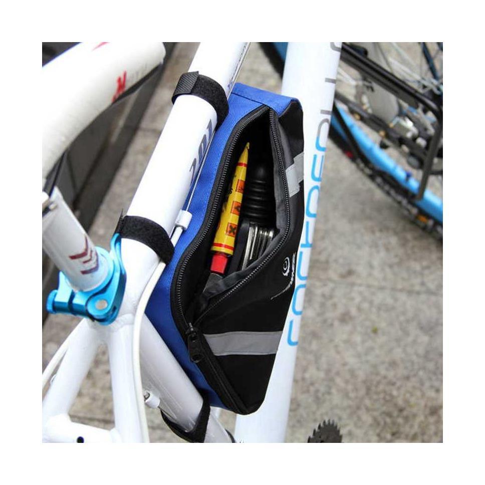 Kelebihan Roswheel Tas Sepeda Segitiga Terkini Daftar Harga Dan Waterproof 4