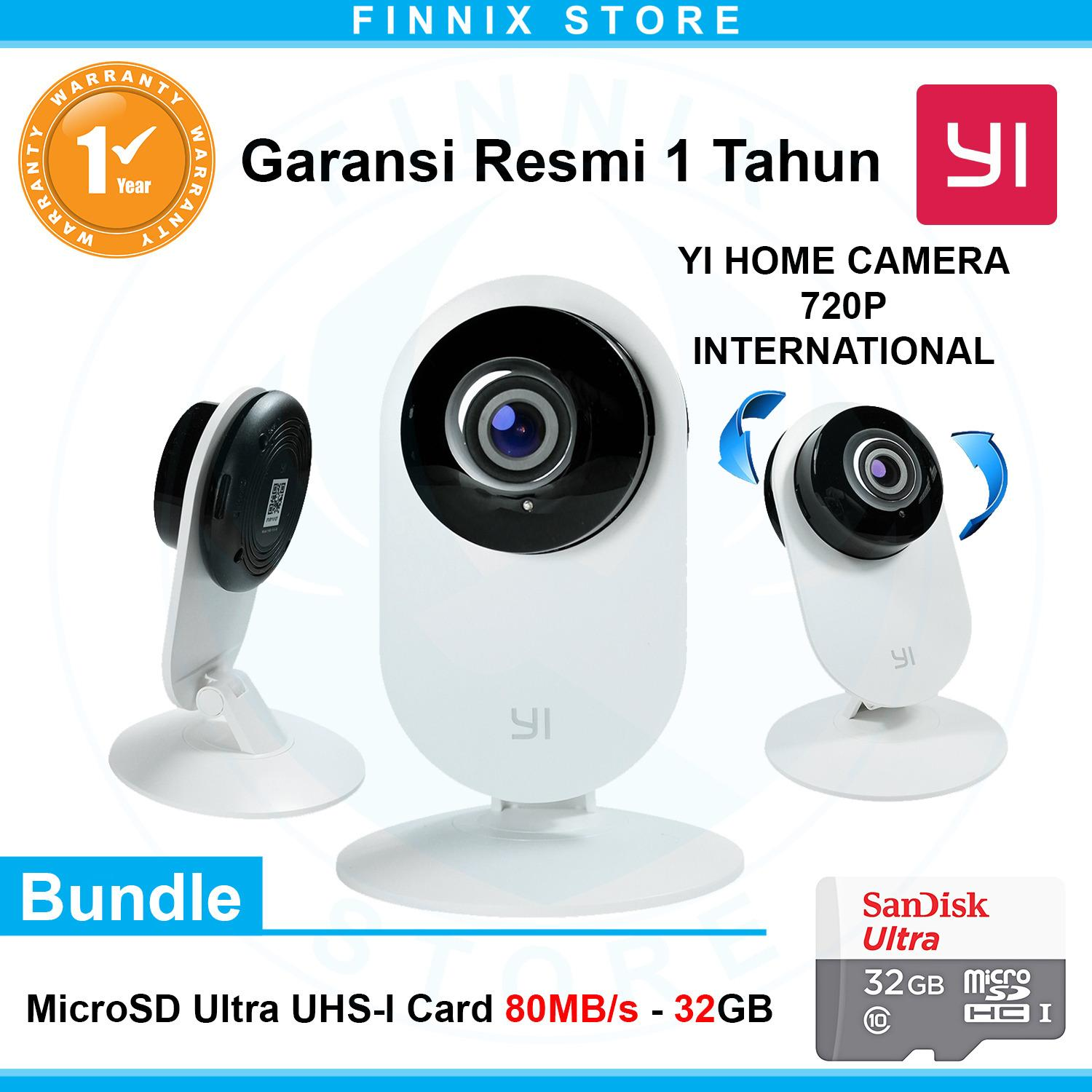 Review Pada Yi Home Camera 720P Hd Smart Cctv Ip Camera International Version Bundle Sandisk 32Gb Class 10