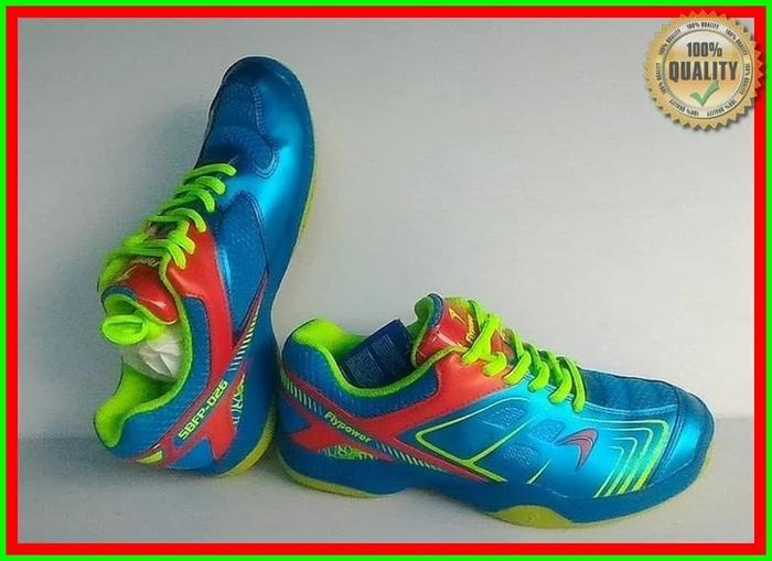 [PROMO] Sepatu Badminton Flypower/ Fly Power Plaosan 4 Original New Mo
